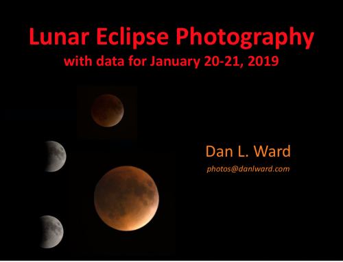 Lunar Eclipse Photography