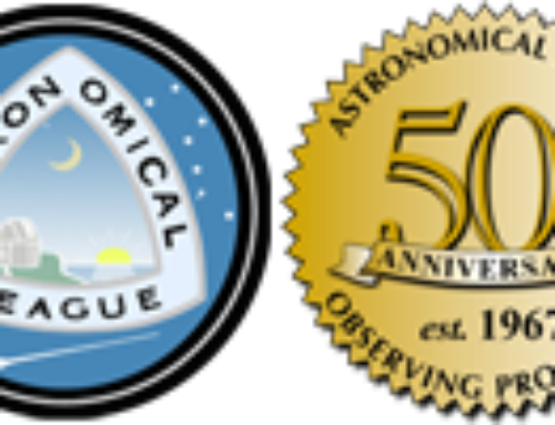 New Astronomical League Mid East Regional Chapter