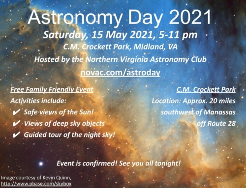 May 15 – Astronomy Day 2021