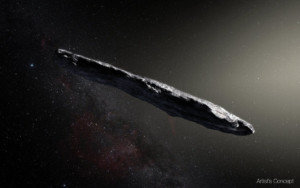 Monthly Meeting - 'Oumuamua – Our Solar System's First Known Interstellar Visitor @ Online via Google Meet