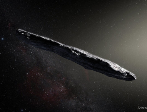 June 13 – Public Monthly Meeting – 'Oumuamua: Our Solar System's First Known Interstellar Visitor