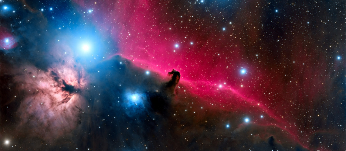 The Horsehead Nebula, taken by Jeff McFarlin